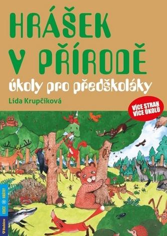 Hrášek v přírodě - úkoly pro předškoláky - Lída Krupčíková