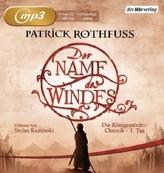 Der Name des Windes, 4 MP3-CDs
