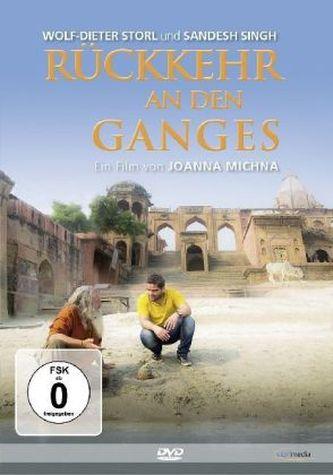 Rückkehr an den Ganges, 1 DVD - Wolf-Dieter Storl