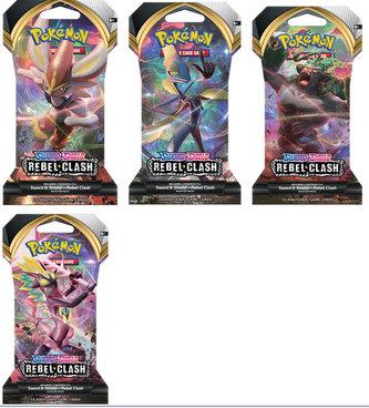 Pokémon TCG: SWSH02 Rebel Clash 1 Blister Booster