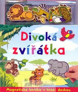 Divoká zvířátka - Magnetická knížka s hrací deskou - 2. vydání
