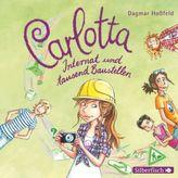 Carlotta, Internat und tausend Baustellen, 2 Audio-CDs