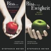 Biss-Jubiläumsausgabe - Biss zum Morgengrauen / Biss in alle Ewigkeit, 3 MP3-CDs