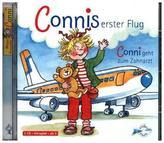 Connis erster Flug / Conni geht zum Zahnarzt, 1 Audio-CD