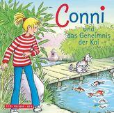 Conni und das Geheimnis der Koi, 1 Audio-CD