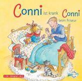 Meine Freundin Conni, Conni ist krank / beim Frisör, 1 Audio-CD