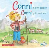 Meine Freundin Conni, Conni in den Bergen / Conni geht verloren, 1 Audio-CD