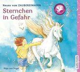 Zaubereinhorn - Sternchen in Gefahr, 1 Audio-CD