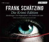 Die Krimi-Edition, 7 Audio-CDs