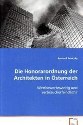 Die Honorarordnung der Architekten in Österreich