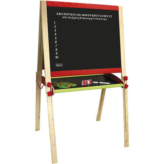 Jeujura Dřevěná multifunční tabule skládací velká