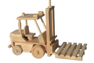 Ceeda Cavity - dřevěné auto - Vysokozdvižný vozík