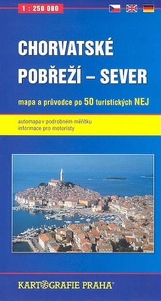 Chorvatské pobřeží - Sever