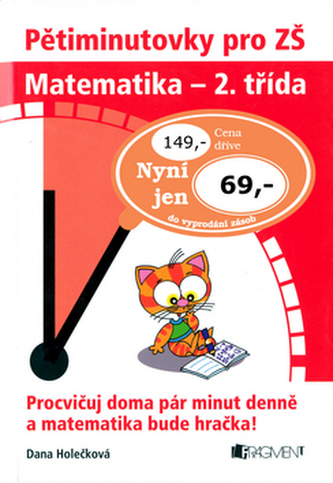 Pětiminutovky pro ZŠ Matematika - 2. třída