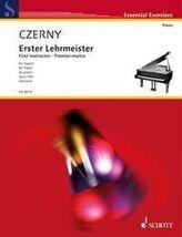 Erster Lehrmeister op.599, für Klavier