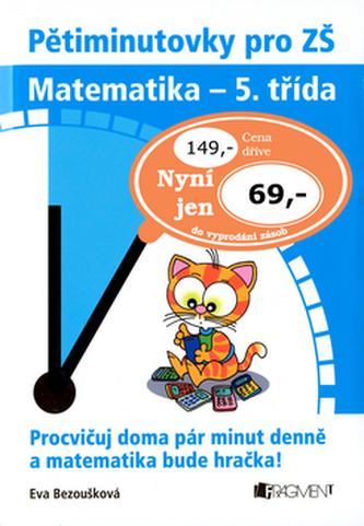 Pětiminutovky pro ZŠ Matematika - 5. třída