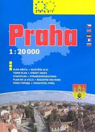 Praha knižní plán 2008