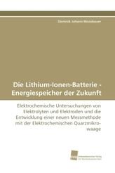 Die Lithium-Ionen-Batterie - Energiespeicher der Zukunft