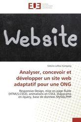 Analyser, concevoir et développer un site web adaptatif pour une ONG