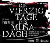 Die vierzig Tage des Musa Dagh, 3 Audio-CDs