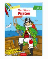 Malbuch ab 5 Jahren - Piraten