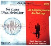 Der kleine Lügendetektor / Die Körpersprache des Datings, 3 Audio-CDs