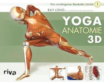 Yoga-Anatomie 3D. Bd.1 - Long, Ray
