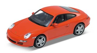 Welly - Porsche 911 (997) Carrera S Coupe 1:24 červené