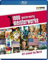 1000 Meisterwerke -300 Minutes of  Art, 1 Blu-ray