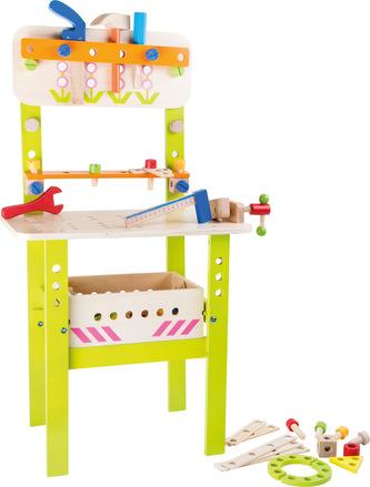 Small Foot Profesionální velký pracovní stůl s nářadím