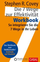 Die 7 Wege zur Effektivität, Workbook