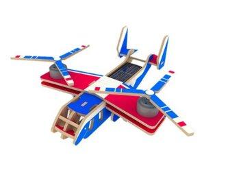 RoboTime vojenské solární letadlo Konvertoplán V22 barevný