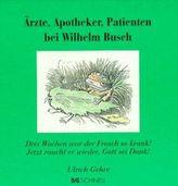 Ärzte, Apotheker, Patienten bei Wilhelm Busch