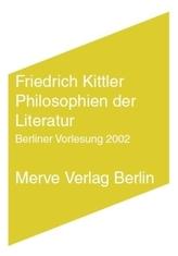 Philosophien der Literatur