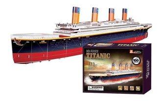Small Foot Třívrstvé pěnové 3D puzzle Titanic