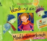 Wanda und die Mädchenhasserbande, 2 Audio-CDs