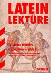 Epistulae morales ad Lucilium. Buch.1