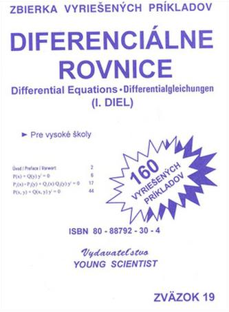 Diferenciálne rovnice 1