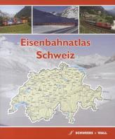 Eisenbahnatlas Schweiz. Railatlas Suisse. Railatlas Svizzera; Railatlas Switzerland