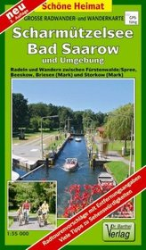 Doktor Barthel Karte Scharmützelsee / Bad Saarow und Umgebung