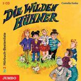 Die Wilden Hühner, 3 Audio-CDs