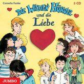 Die Wilden Hühner und die Liebe, 3 Audio-CDs