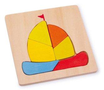 Small Foot Vkládací puzzle Loď
