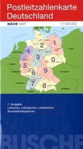 Busche Map Postleitzahlenkarte Deutschland