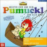 Pumuckl und die geheimnisvolle Schaukel / Pumuckl hütet die Fische, 1 Audio-CD