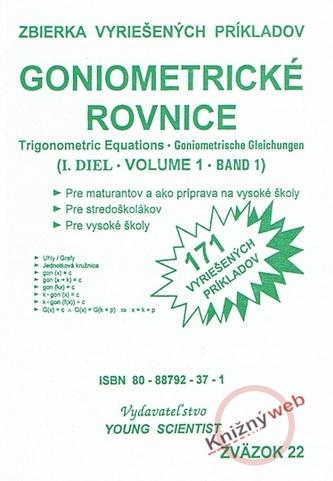 Goniometrické rovnice I. diel