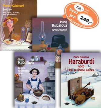 Balíček 4ks Arcibáby + Haraburdí + Kouzlo rodinného stolu + Arcidědkové