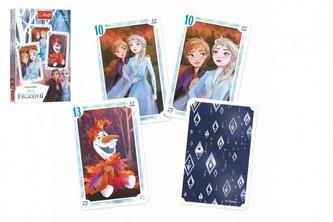 Černý Petr Ledové království II/Frozen II společenská hra v papírové krabičce 6x9x1cm 20ks v boxu