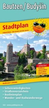 PublicPress Stadtplan Bautzen / Budysin