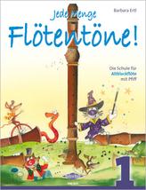 Jede Menge Flötentöne!, für Altblockflöte. Bd.1